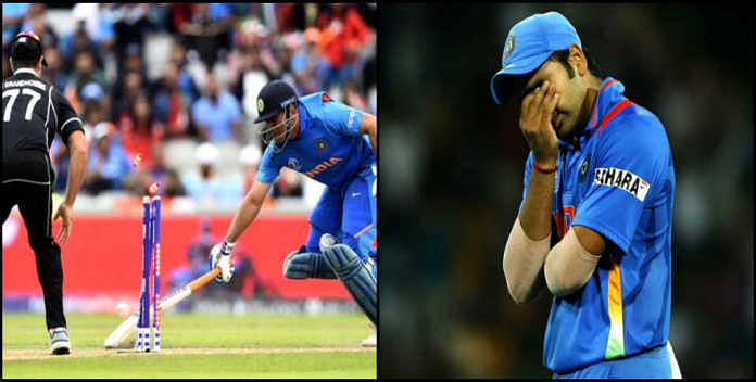 VIDEO: धौनी रन आउट...दो साल पहले आज ही टूटा था करोड़ों भारतीयों का दिल, टीम की हार पर रो पड़े थे रोहित-कोहली