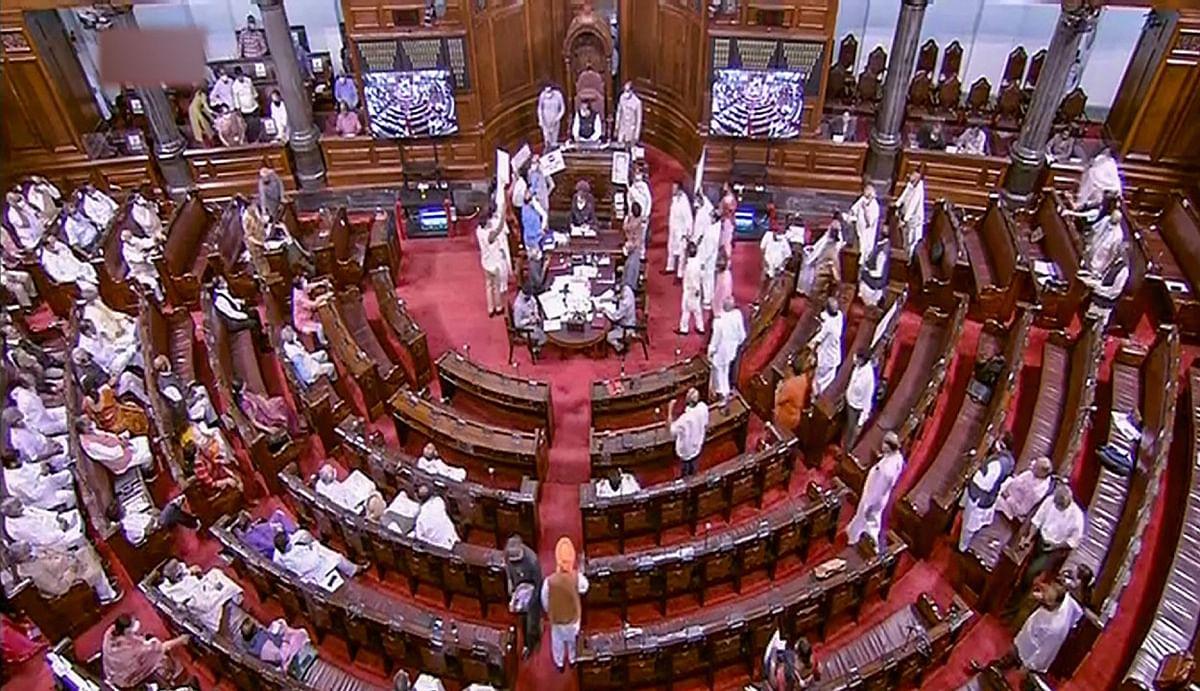 विपक्षी पार्टियों के हंगामे की वजह से आज भी नहीं चली संसद, राज्यसभा की कार्यवाही कल तक के लिए स्थगित