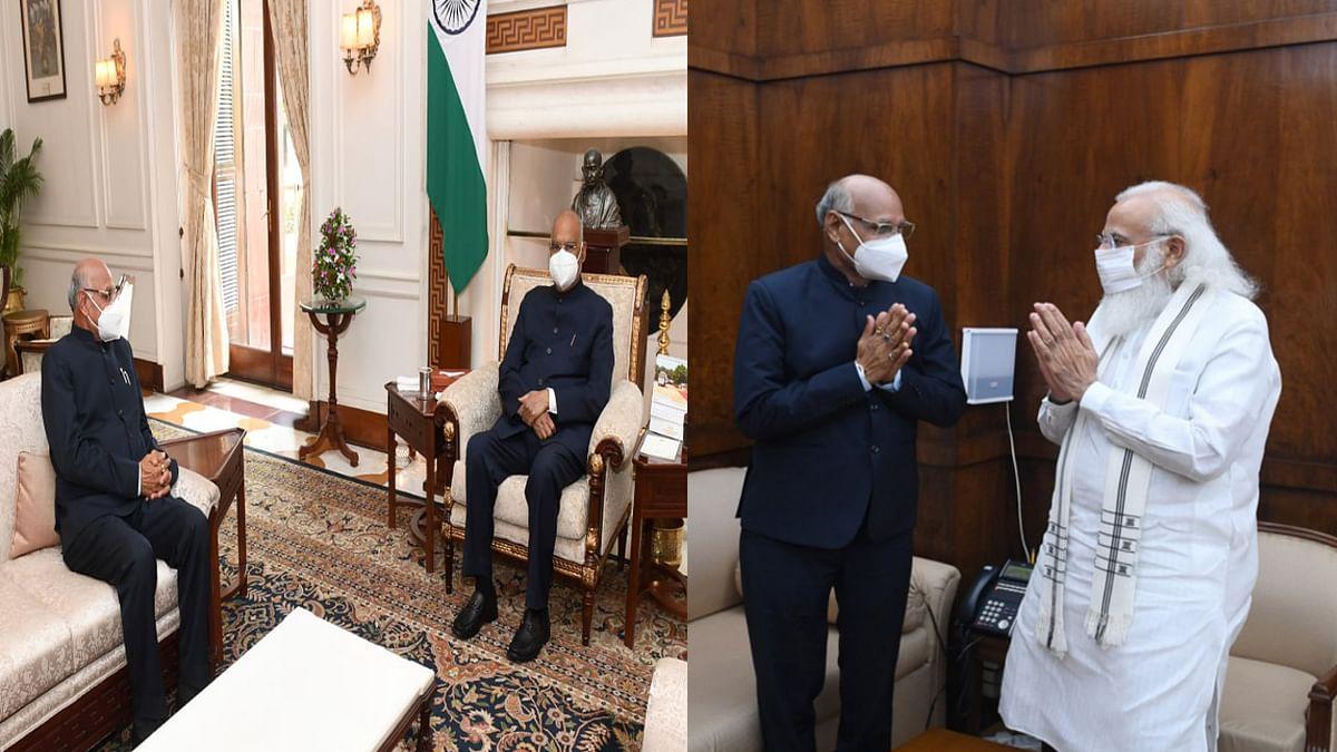 झारखंड के राज्यपाल बनने के बाद रमेश बैस गये दिल्ली, राष्ट्रपति और पीएम मोदी से की मुलाकात