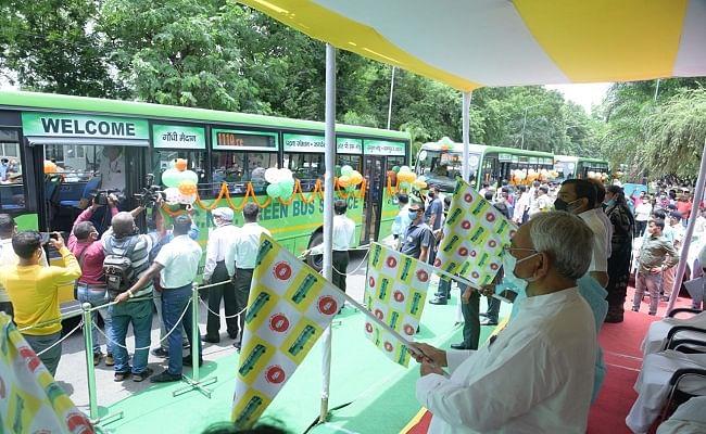 पटना को 50 और सीएनजी बसों की मिली सौगात, GPS व CCTV से रहेंगी लैश, जानिये रूट और किराया