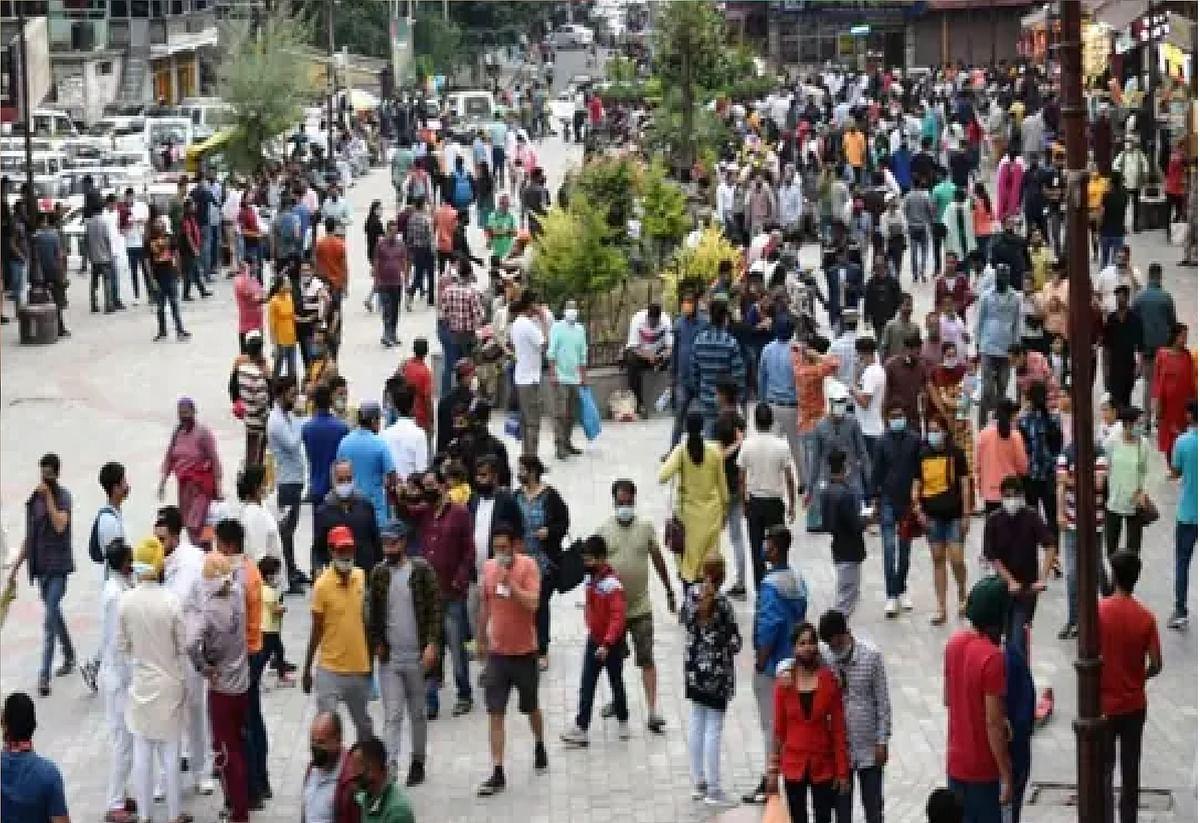 Risk Of Corona Increase : पहाड़ों में बढ़ी भीड़, इस जगह पर सिर्फ 50 लोगों को प्रवेश की इजाजत