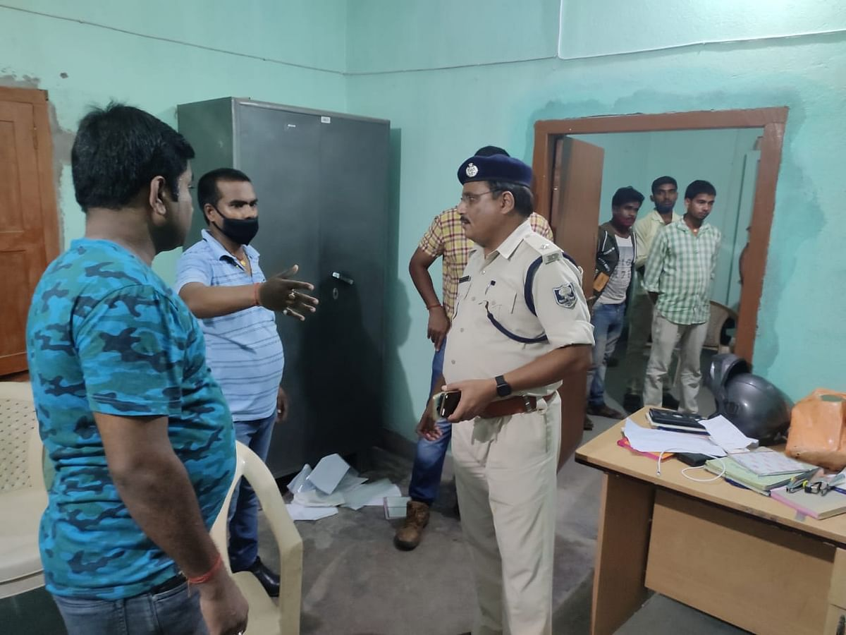 बिहार के हाजीपुर में आरबीएल फिनो बैंक से 4 लाख रुपये की लूट