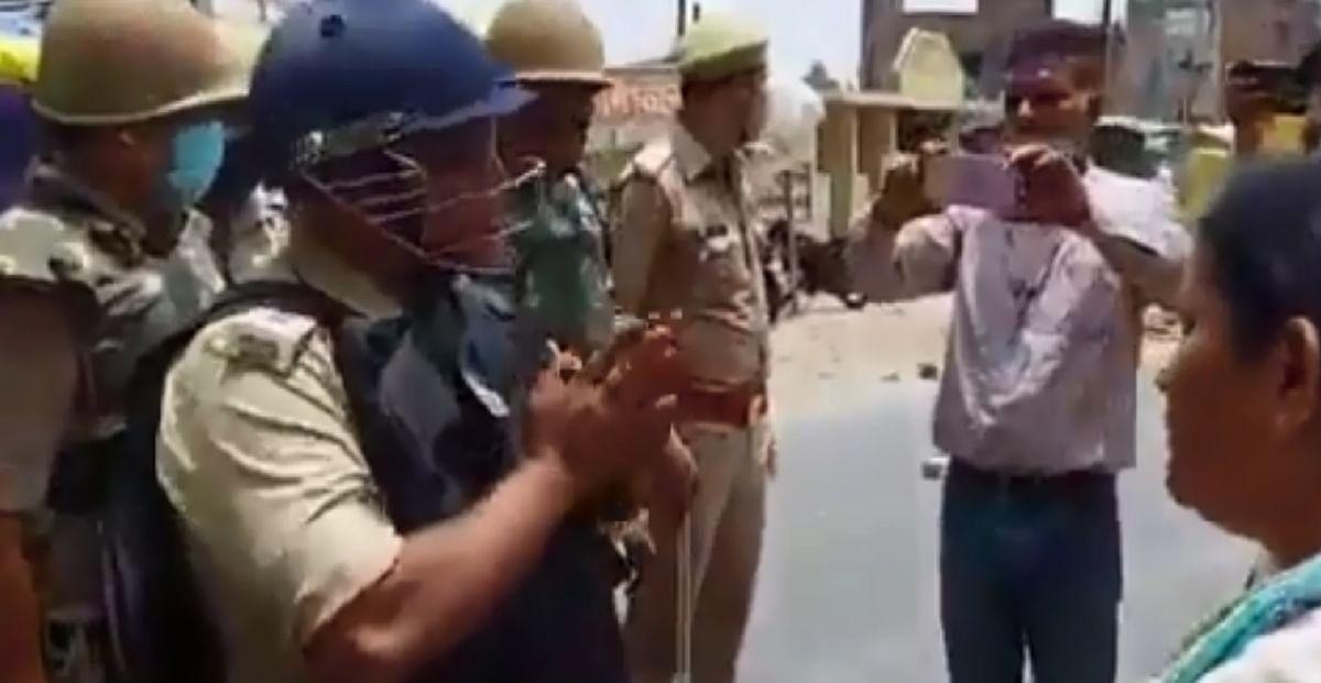 यूपी चुनाव में हिंसा : भाजपा कार्यकर्ताओं ने एएसपी को जड़ा थप्पड़, मामला दर्ज