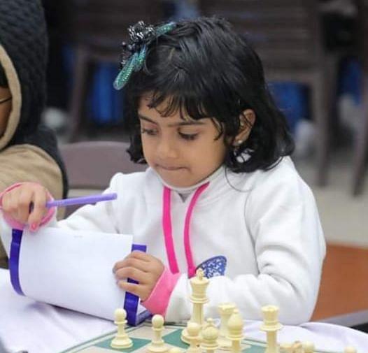 शतरंज खिलाड़ी दीशिता ने एशियन स्कूल चैंपियनशिप के लिए किया क्वालिफाई, नेशनल में टॉप-5 में बनायी जगह