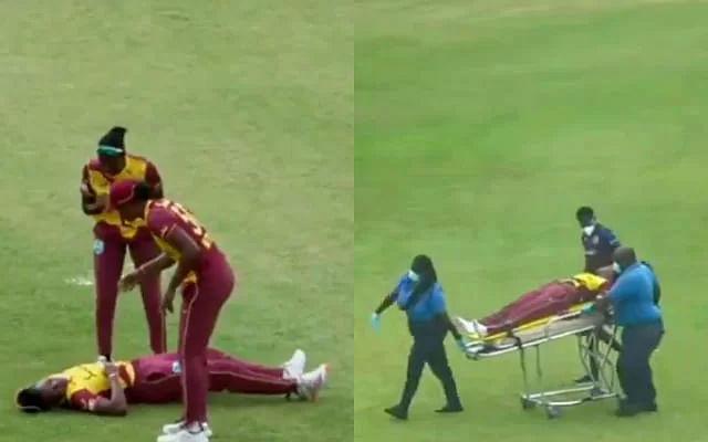 T20 मैच में वेस्ट इंडीज की महिला टीम के साथ हुआ भनायक हादसा, मैदान में 10 मिनट में बेहोश होकर गिरे 2 खिलाड़ी