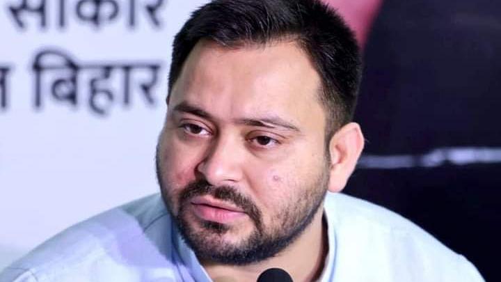 सदन में सरकार के खिलाफ तेजस्वी यादव ने खोला मोर्चा, कहा- 'नीतीश कुमार धैर्य खो रहे हैं, बिहार पुलिस घूसखोर'