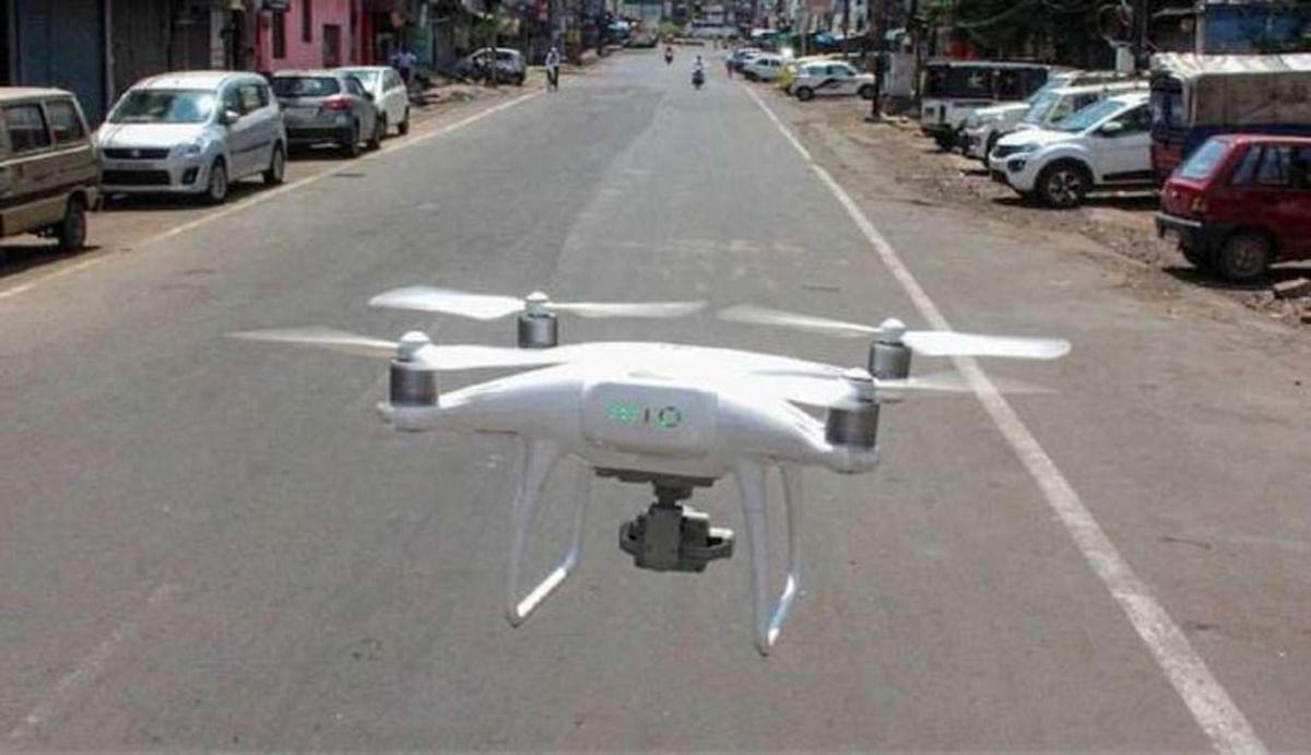 भारत-नेपाल सीमा पर 11 ड्रोन कैमरों के साथ एक गिरफ्तार, पुलिस कर रही पूछताछ