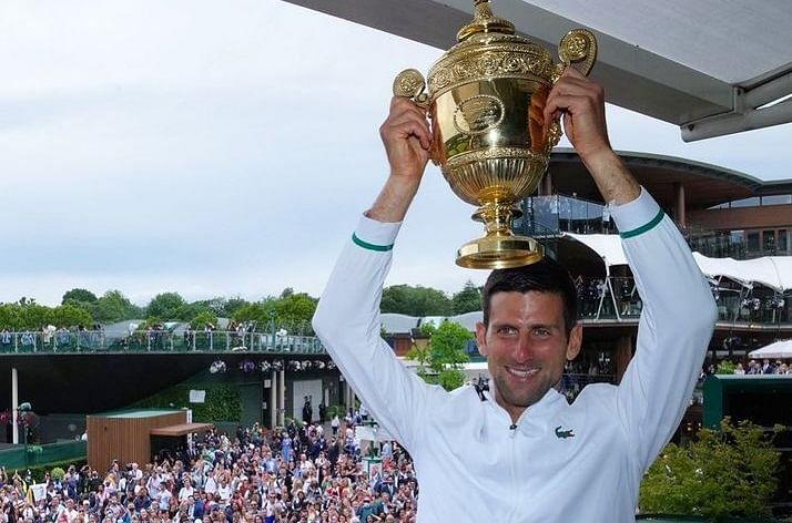 Wimbledon 2021 : जोकोविच ने विंबलडन जीतकर रचा इतिहास, फेडरर-नडाल के रिकॉर्ड की बराबरी की