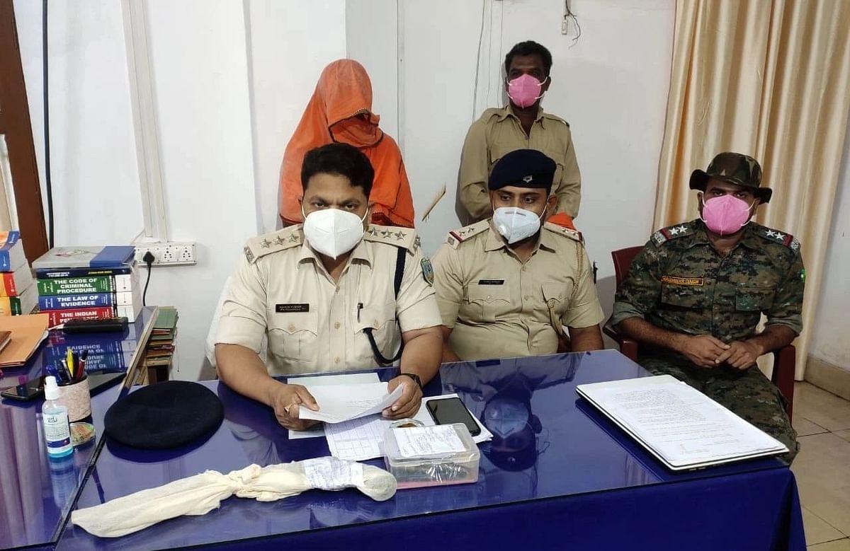 नक्सलियों के खिलाफ चतरा पुलिस को मिली सफलता, हथियार के साथ लेवी वसूलने वाला राजेंद्र गंझू गिरफ्तार