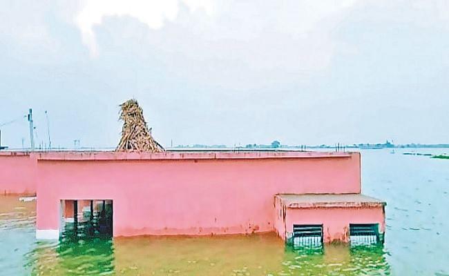 Bihar Flood: समस्तीपुर में गंगा के बढ़ते जलस्तर से गहरायी संकट, लाल निशान के ऊपर बह रही बागमती और बूढ़ी गंडक