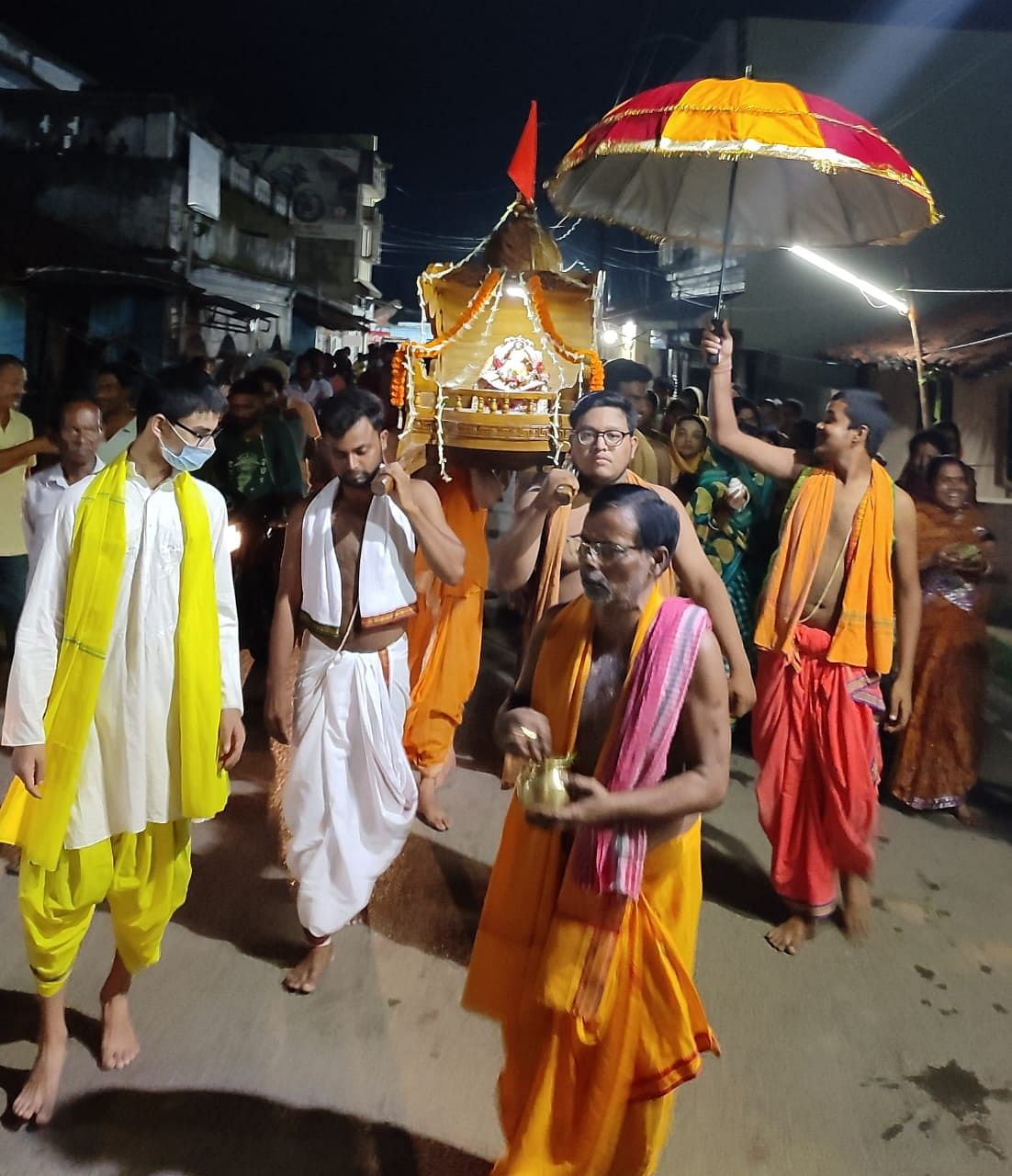 नाराज महालक्ष्मी ने तोड़ा प्रभु जगन्नाथ का रथ, ओडिशा की तर्ज पर सरायकेला में निभायी गयी रथ भंगिनी परंपरा