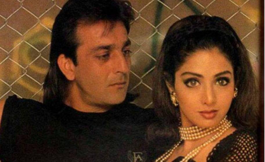 संजय दत्त को इस हालत में देख घबरा गईं थीं श्रीदेवी, मेकअप रूम में खुद को कर लिया था बंद