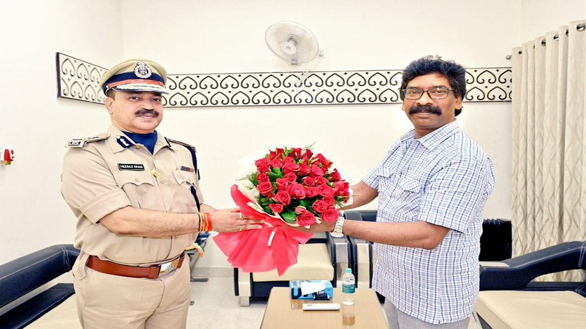 झारखंड DGP नीरज सिन्हा को मिला दो साल का एक्सटेंशन, 11 फरवरी 2023 तक बने रहेंगे पुलिस के मुखिया