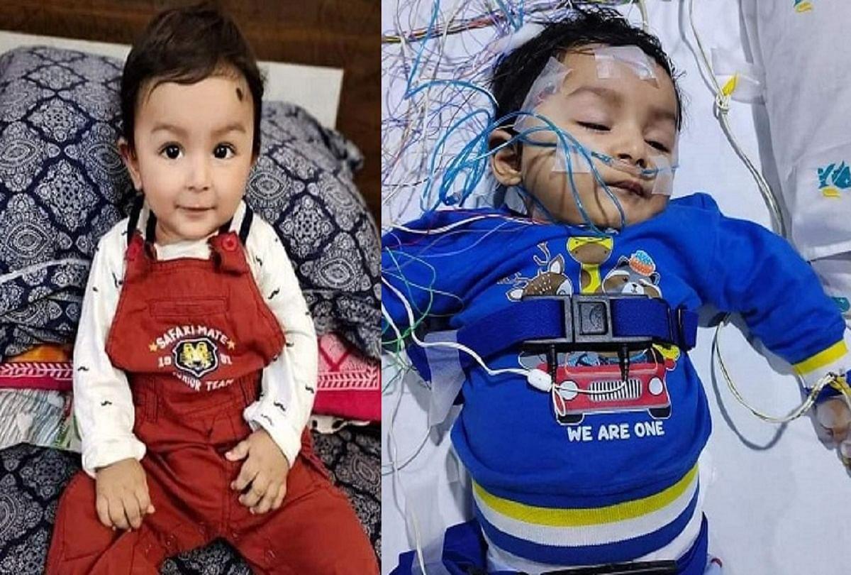 जीना चाहता है पटना के 10 माह का मासूम अयांश,16 करोड़ के इंजेक्शन का इंतजार, जानें क्या है बीमारी