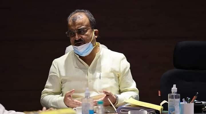 मोदी सरकार के नक्शेकदम पर मंगल पांडेय, सदन में दिया बयान-'ऑक्सीजन की कमी से बिहार में एक भी मौत नहीं'