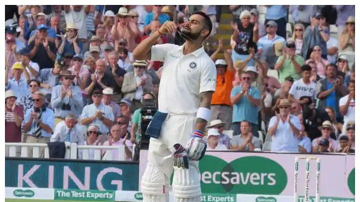 India vs England: इंग्लैंड टेस्ट से पहले कप्तान कोहली ने टीम में भरा जोश, अनुष्का शर्मा ने ऐसे दिया साथ
