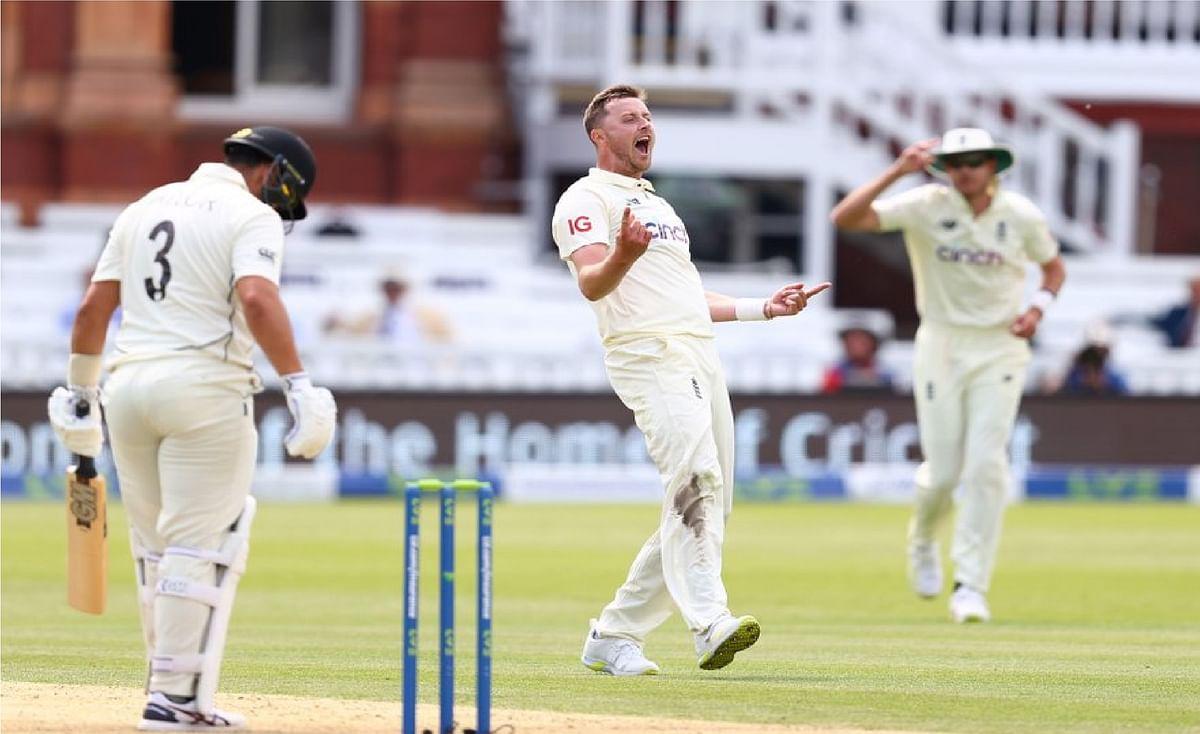 रॉबिन्सन पर ECB ने लगाया 8 मैच का बैन, फिर भी भारत के खिलाफ खेल सकेंगे टेस्ट शृंखला