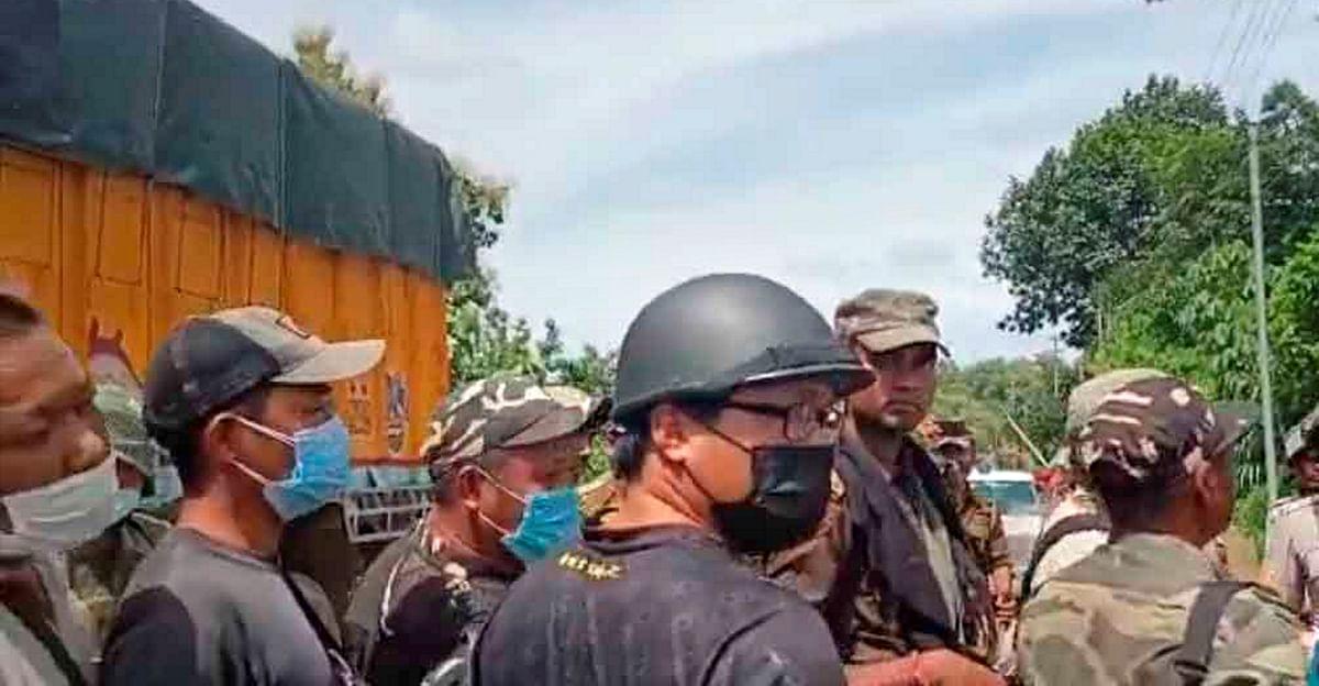 Mizoram border dispute