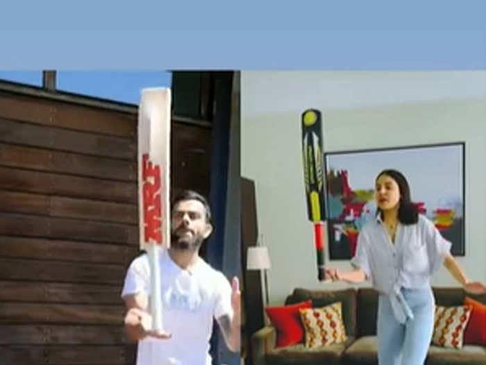 पत्नी अनुष्का के बाद CSK के धाकड़ खिलाड़ी ने एक्सेप्ट किया विराट का चैलेंज, वीडियो में देखें किसने मारी बाजी