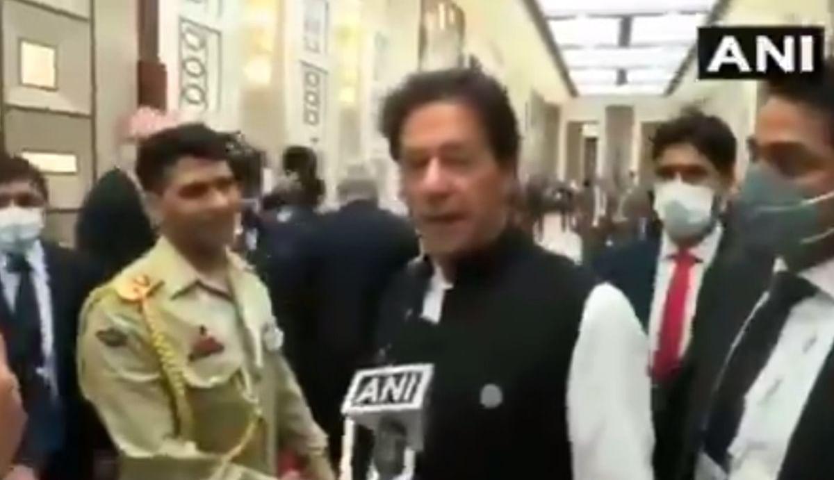 तालिबान पर पूछे गए सवाल को टाल गए इमरान खान, भारत के साथ दोस्ती में दरार के लिए RSS को ठहराया जिम्मेदार