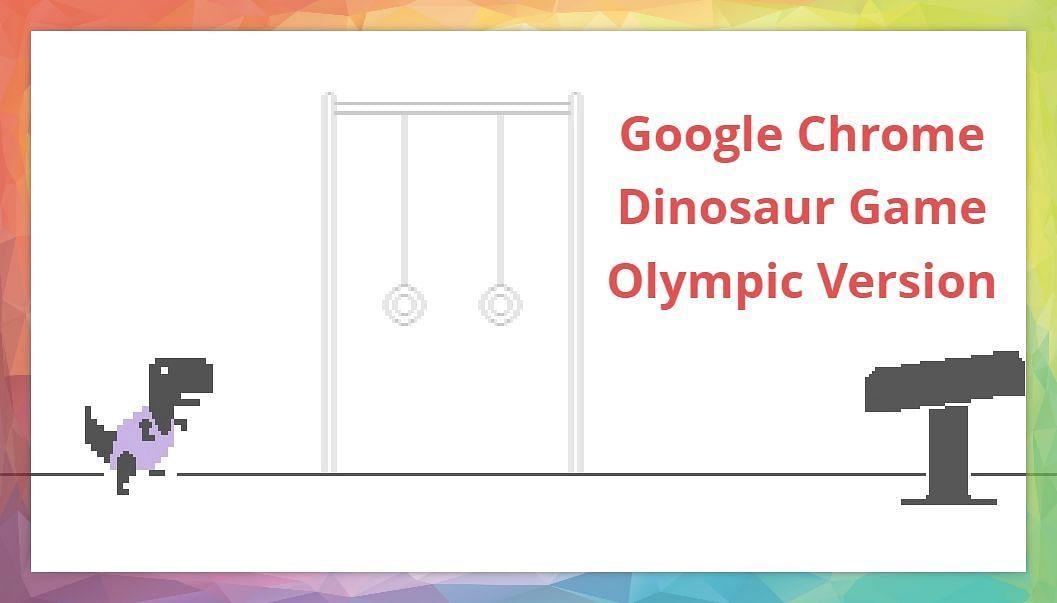 Google क्रोम के डायनासोर गेम को मिला Olympics अपडेट, बिना इंटरनेट के लीजिए खेल का मजा
