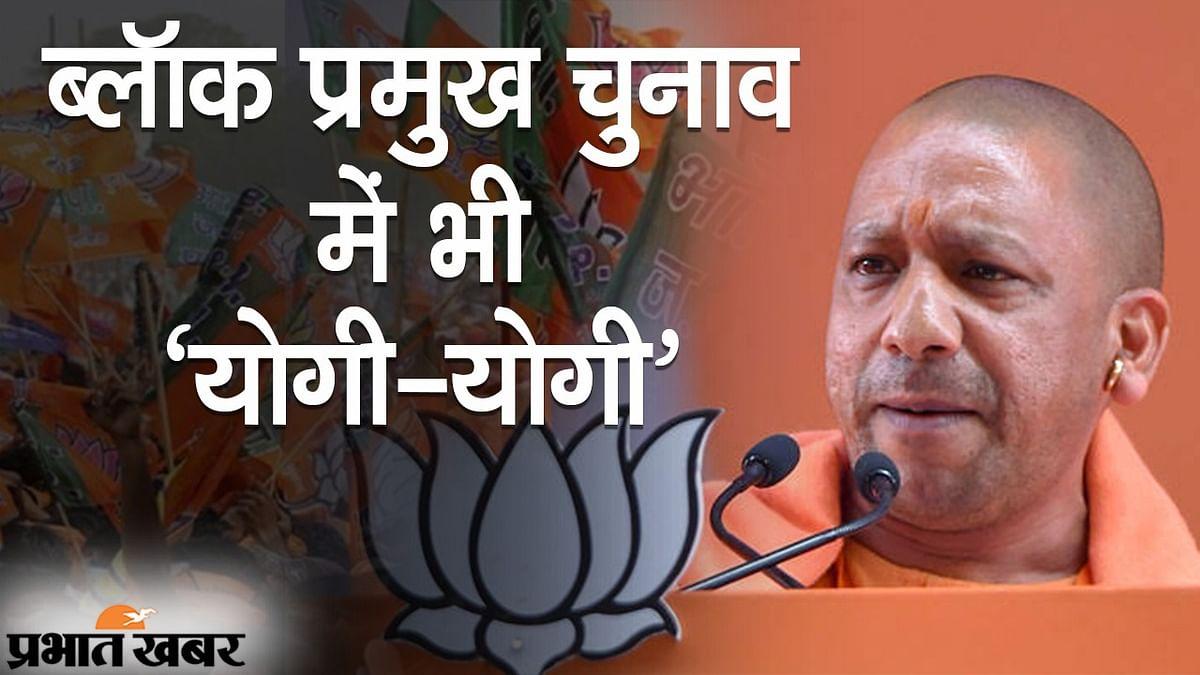 ब्लॉक प्रमुख चुनाव के नतीजों में भी 'योगी जलवा', 500 से ज्यादा सीटों पर BJP जीती, कमल के आगे अखिलेश फेल