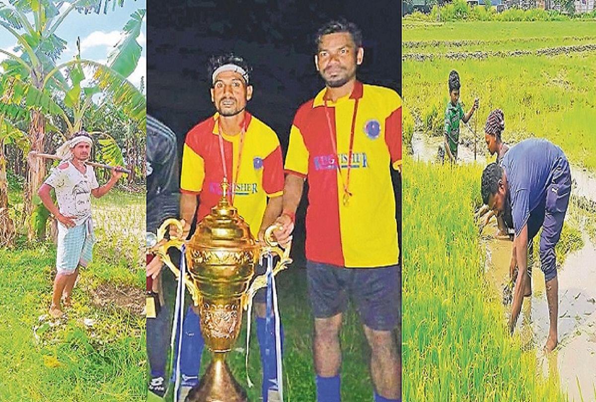 Corona Impact: गोल दागकर बनायी राष्ट्रीय पहचान, हालात से हारकर मजदूरी कर रहे बिहार के दो स्टार फुटबॉल खिलाड़ी