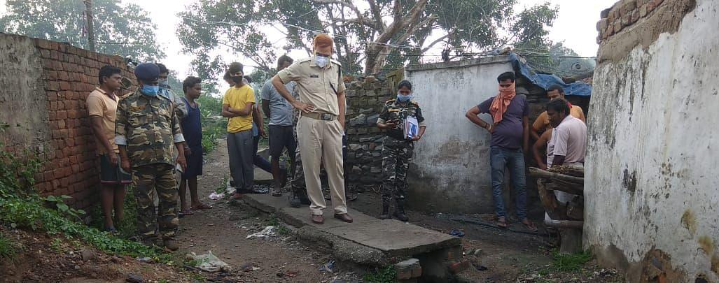 रांची में दिहाड़ी मजदूर की गला रेतकर हत्या, बुजुर्ग दादी पर बच्चों के पालने की जिम्मेदारी