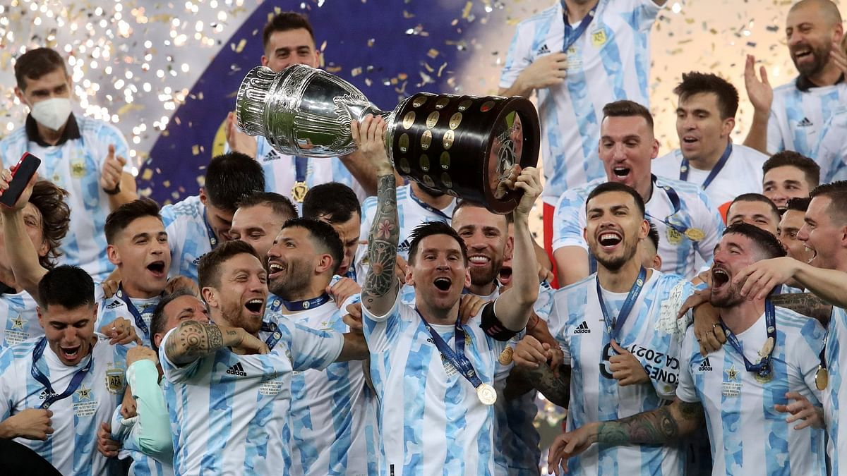 अर्जेंटीना ने ब्राजील को हरा जीता Copa America 2021, मेसी का सपना हुआ पूरा