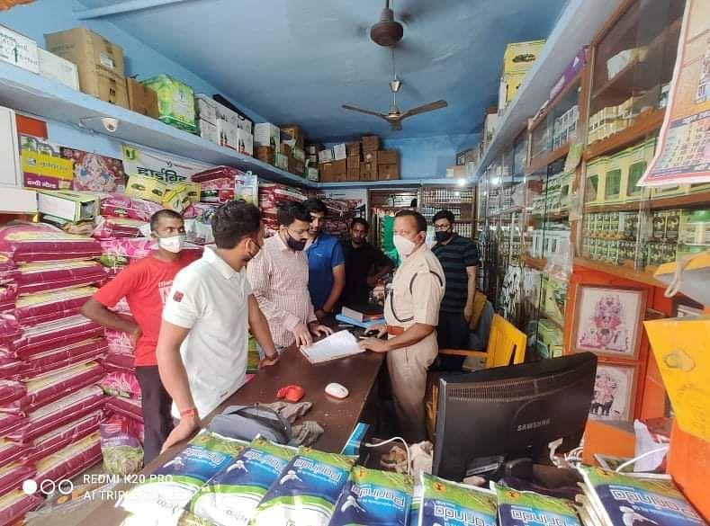 पुलिस पेट्रोलिंग के बावजूद चोरों का आतंक, खाद बीज समेत कई दुकानों में चोरी, CCTV फुटेज खंगाल रही पुलिस