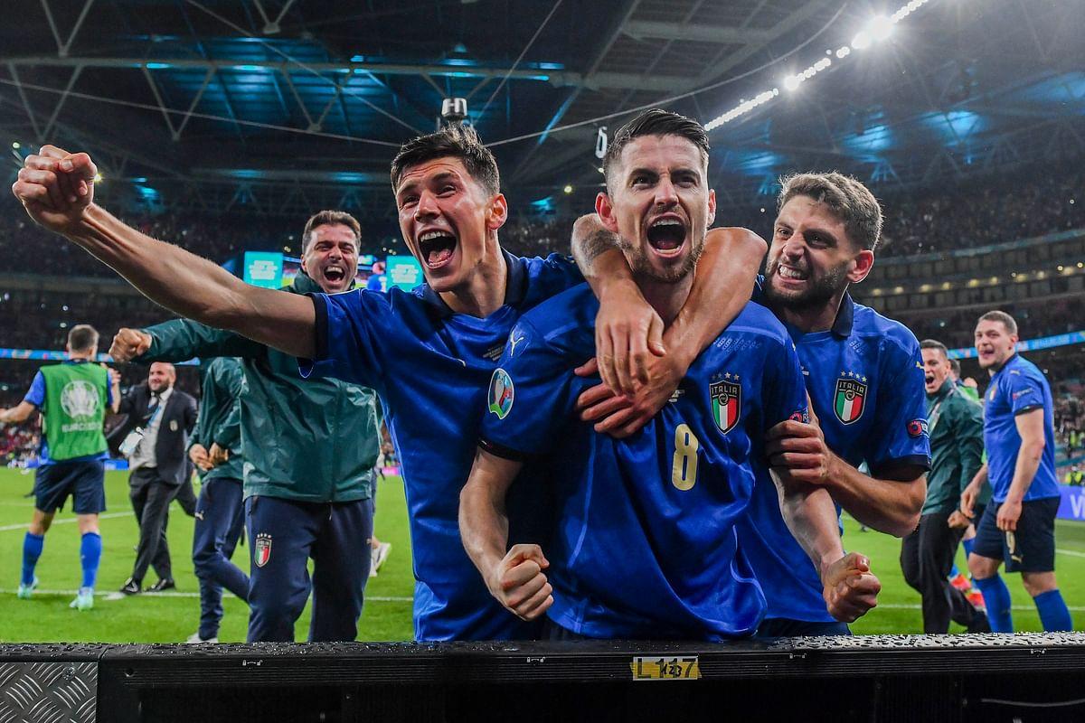 Euro Cup 2020 : स्पेन को रौंदकर इटली फाइनल में, दूसरे सेमीफाइनल में इंग्लैंड और डेनमार्क पर नजर