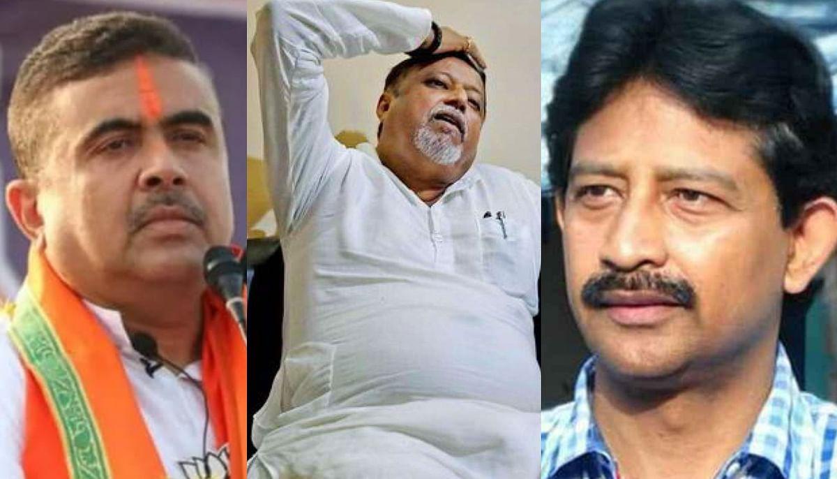 मुकुल रॉय से मिले भाजपा नेता राजीव बनर्जी, शुभेंदु अधिकारी पर साधा निशाना