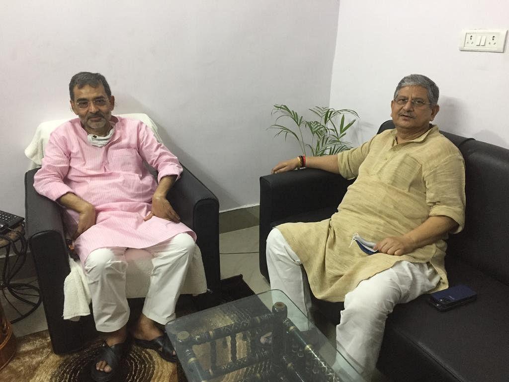Bihar News: उपेंद्र कुशवाहा से मिलने पहुंचे JDU सांसद ललन सिंह, बिहार में बढ़ा सियासी तापमान