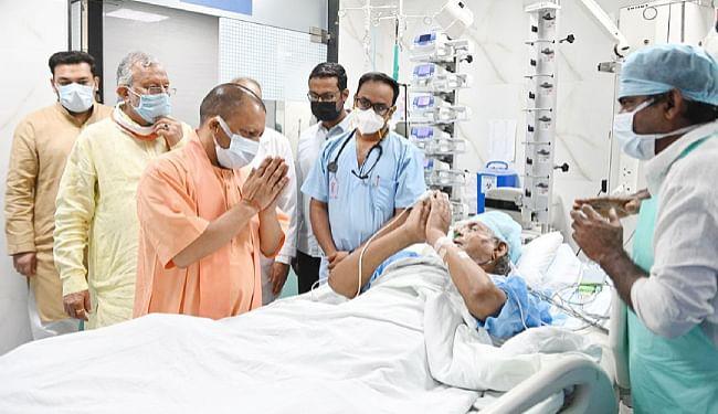 यूपी के पूर्व मुख्यमंत्री कल्याण सिंह की तबीयत फिर बिगड़ी, पेट फूलने और सांस लेने में तकलीफ की शिकायत की