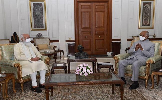 वाराणसी से लौटते ही रामनाथ कोविंद से मिलने राष्ट्रपति भवन पहुंचे पीएम मोदी, महत्वपूर्ण मुद्दों पर हुई चर्चा