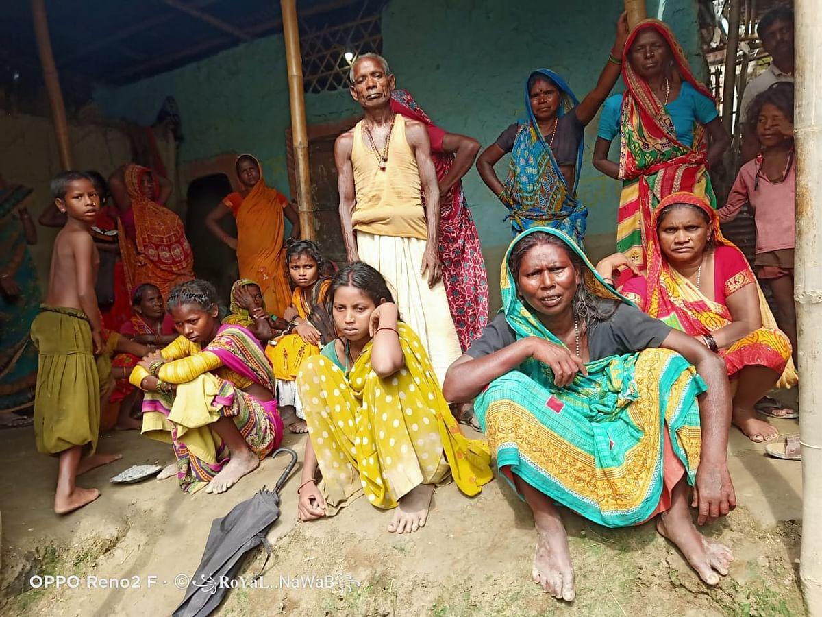 Bihar Crime News कुर्साकांटा में  तीन सौ रुपये के लिये मजदूर ने की साथी की हत्या