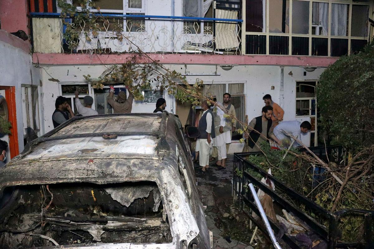 काबुल में हुए अमेरिकी ड्रोन हमले में मारे गये कई बच्चे, 2 साल की बच्ची की भी मौत, रिपोर्ट में दावा