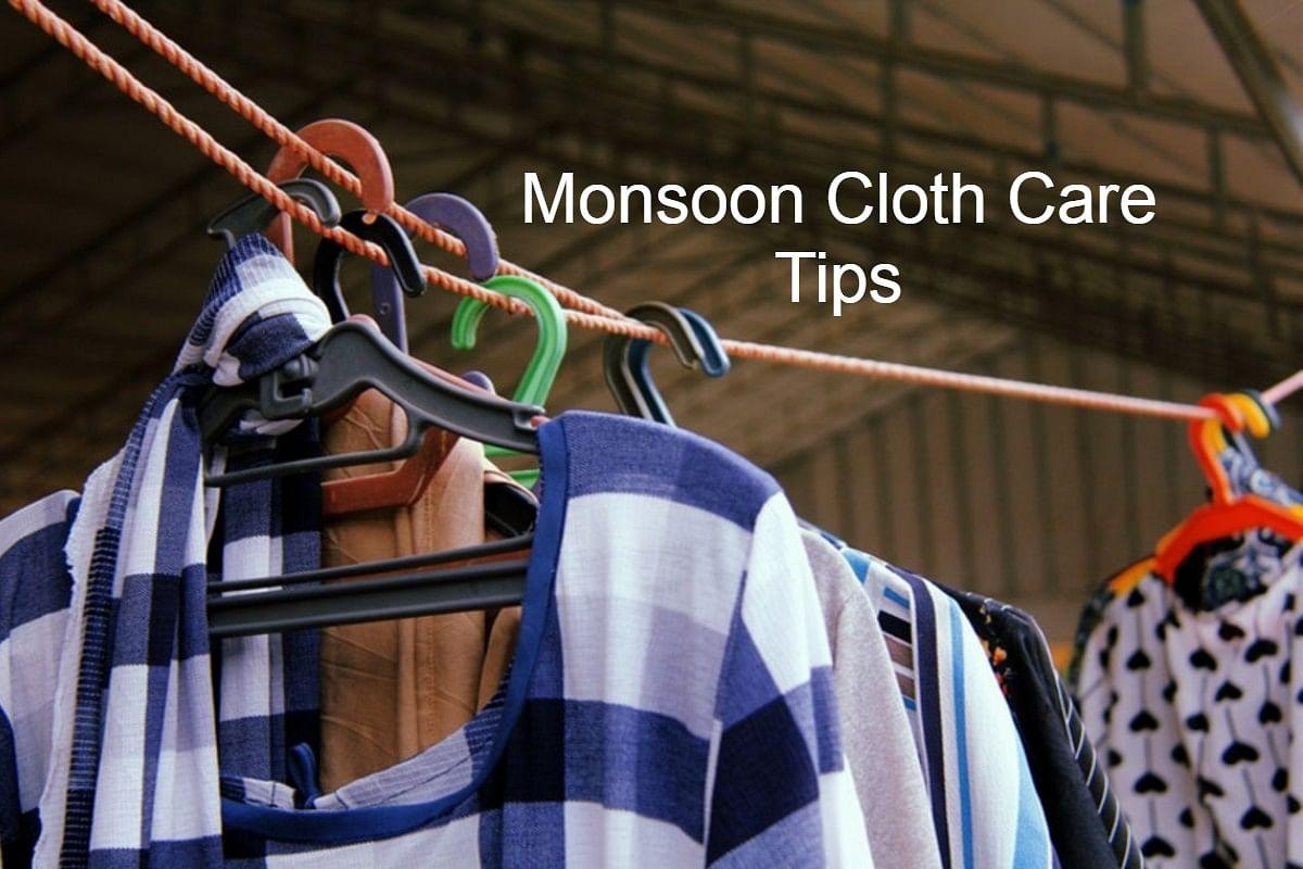 Clothes Care Tips: बरसात के मौसम में कपड़ों से आती है बदबू, तो अपनाएं ये टिप्स, दुर्गंध भगाएं दूर