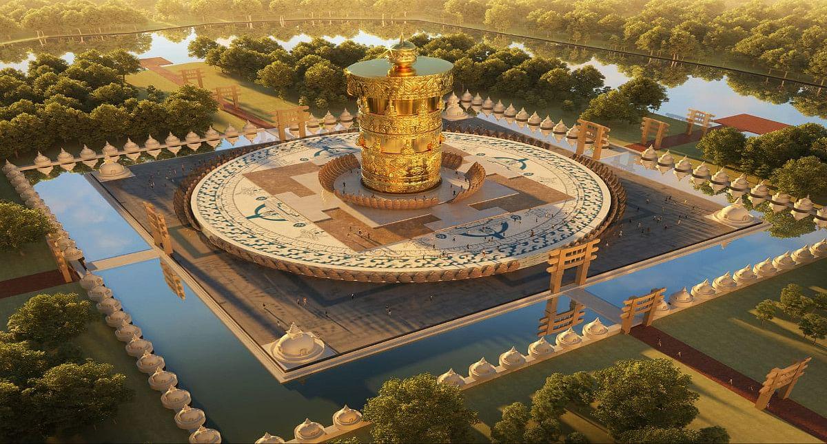 चतरा के मां भद्रकाली मंदिर परिसर में बनेगा सबसे ऊंचा प्रेयर व्हील, लेजर शो समेत कई अन्य चीजों का होगा निर्माण