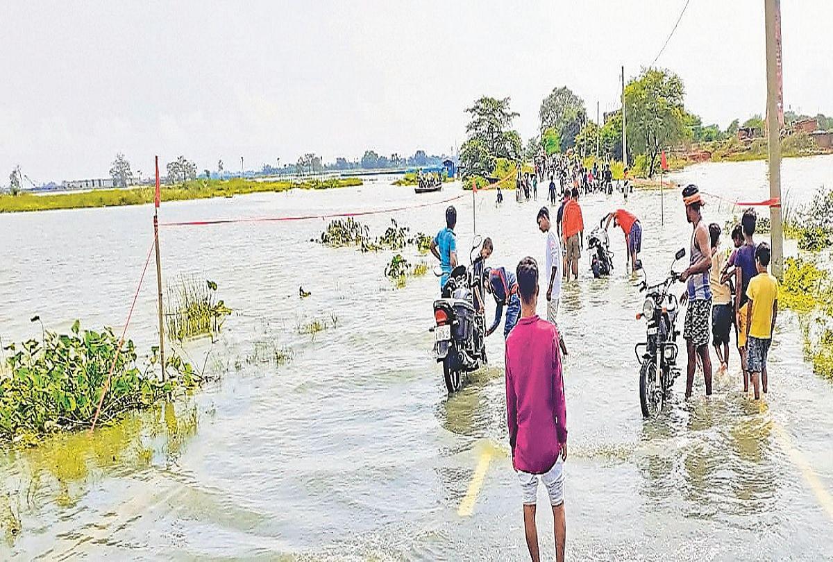 Bihar Flood: बक्सर में बाढ़ से बिगड़े हालात, चौसा-मोहनिया हाइवे पर चढ़ा पानी, परिचालन बंद
