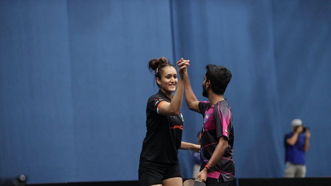 Olympics खत्म होते ही मनिका बत्रा का धमाल, जी साथियान के साथ जीता मिक्स्ड डबल्स का खिताब