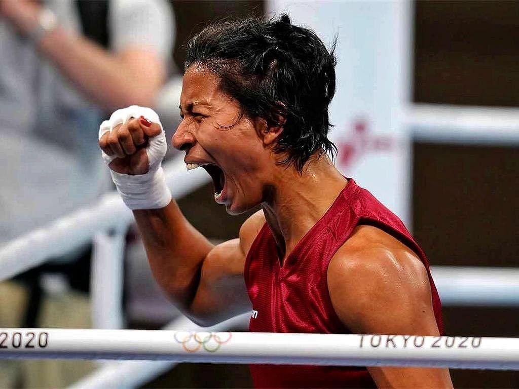 Tokyo Olympics में भारत ने जीता तीसरा मेडल, लवलीना ने ब्रॉन्ज पर जड़ा पंच
