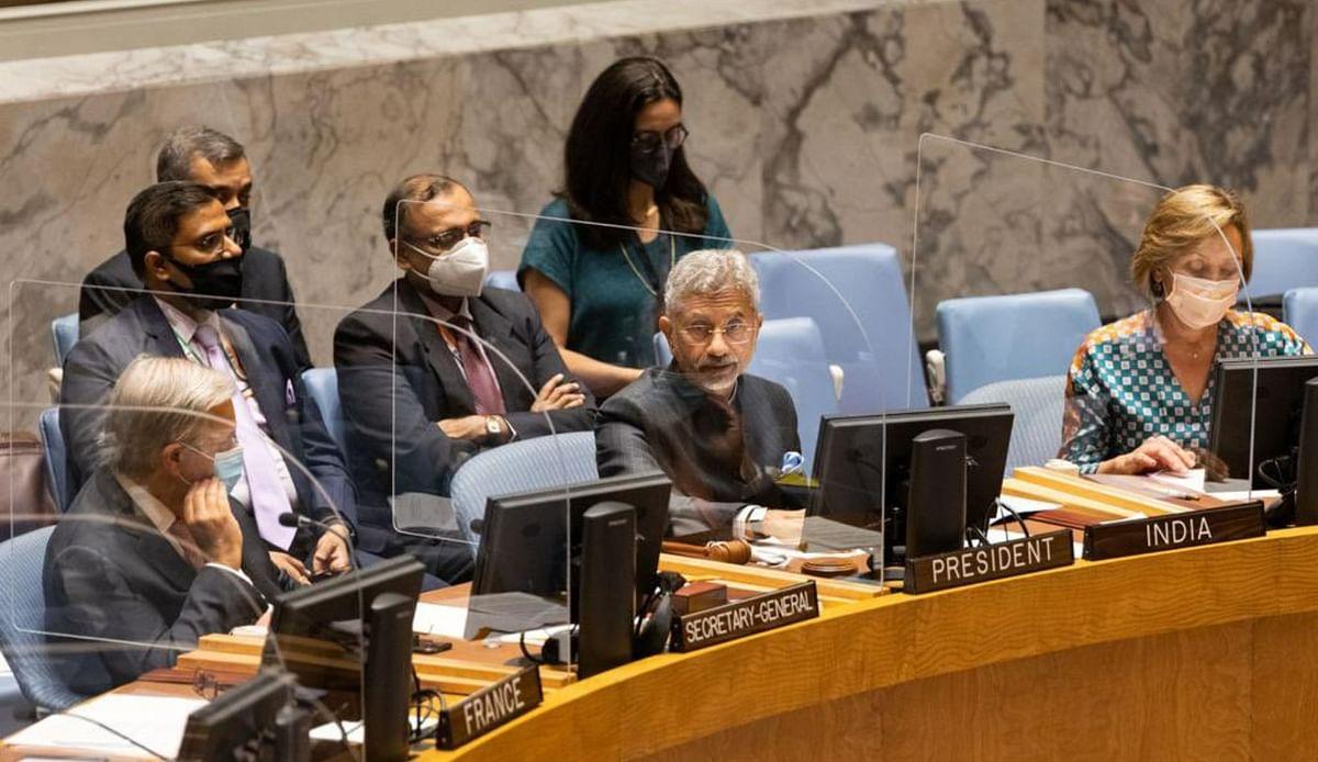 UNSC में एस जयशंकर ने पाकिस्तान पर बोला हमला, कहा- हत्या का इनाम अब बिटकॉइन में दिया जा रहा