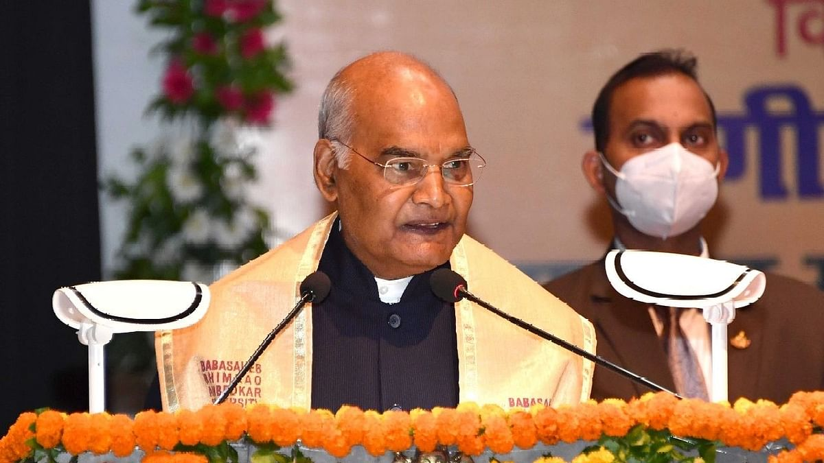 आज बिहार विधानसभा में व्याख्यान देंगे राष्ट्रपति रामनाथ कोविंद, जानिये रात्रिभोज समेत पूरा कार्यक्रम