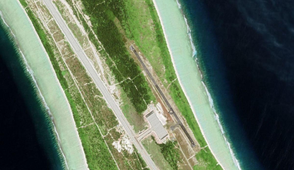 अगालेगा में भारत ने तीन किलोमीटर लंबा हवाई पट्टी तैयार किया है