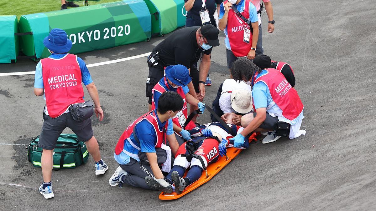 ओलंपिक में बड़ा हादसा! इवेंट के दौरान चोटिल होने से अमेरिकी राइडर कॉनोर फील्ड्स ICU में भर्ती