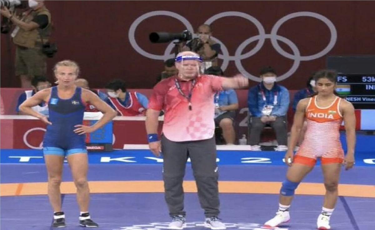 Tokyo Olympics में विनेश फोगाट के खराब प्रदर्शन से चाचा महावीर नाराज, कहा- इससे घटिया फाइट नहीं देखा