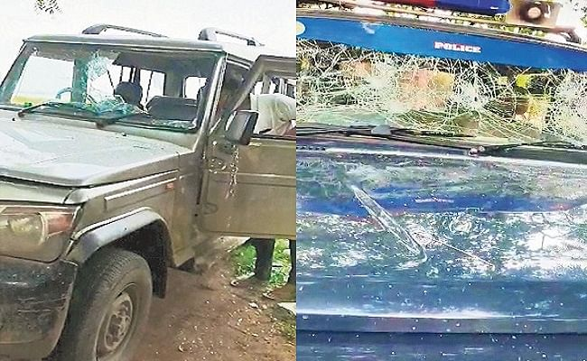Bihar News: भोजपुर में बालू घाट पर छापेमारी करने गयी पुलिस टीम पर हमला, गाड़ियों का शीशा फोड़ा, चार धराये