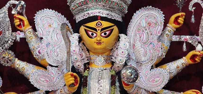 गुमला के दशभुजी मंदिर में 256 वर्ष से होती आ रही है दुर्गा पूजा, जानें किस राजा ने की थी इसकी शुरुआत