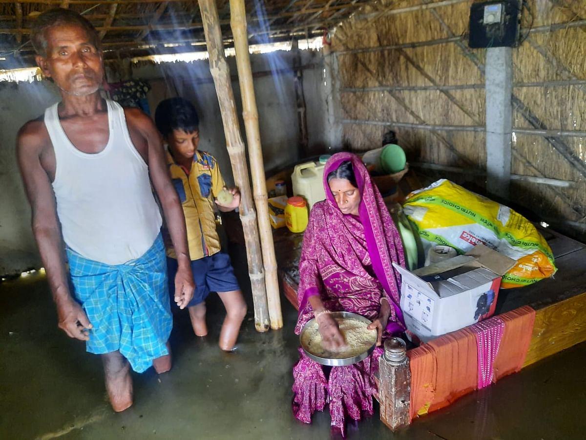 Flood News: कदाने-नून नदियां उफनायीं, घर-सड़क सब डूबे, लाखों की आबादी प्रभावित